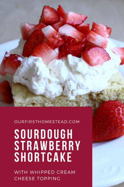pin for sourdough strawberry shortcake